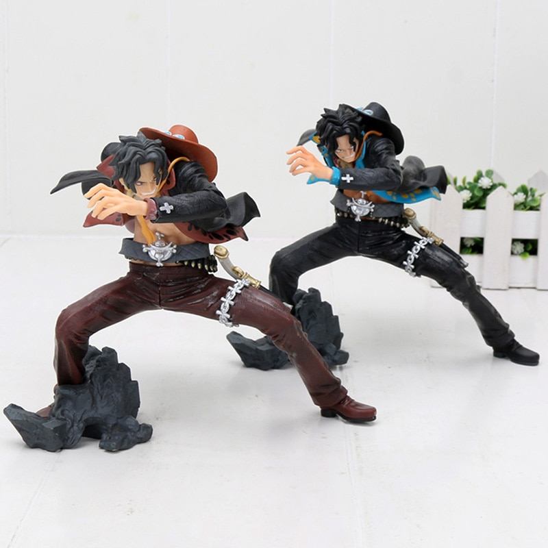 Anime una pieza CRANEKING Portgas D. Ace PVC figura de juguete de modelos coleccionables 13cm