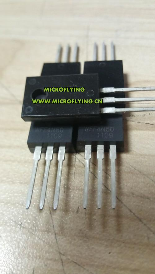 10 50 100 יח'אריזה יח'אריזה יח'אריזה WFF4N60F = FQPF4N60C 4N60 4A 600 V TO-220F MOSFET