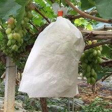 100 Uds planta de vivero bolsas biodegradables de frutas no tejidas bolsas para vivero bolsas de cultivo de plantas de tela macetas 240mm X 350mm