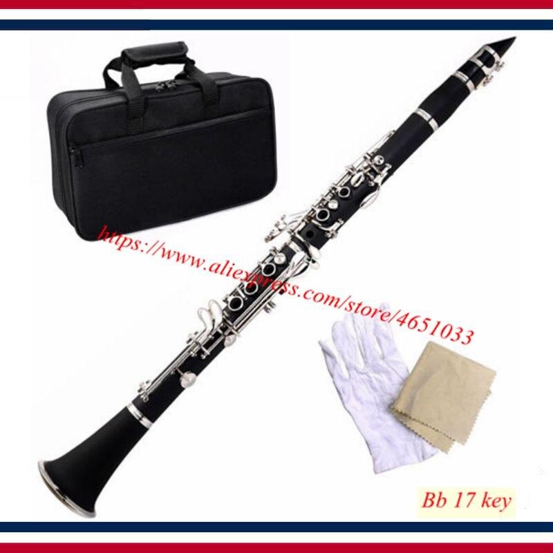 Clarinet        Brand New Professional School Band Black Blue Green Purple Red White Bb Clarinet