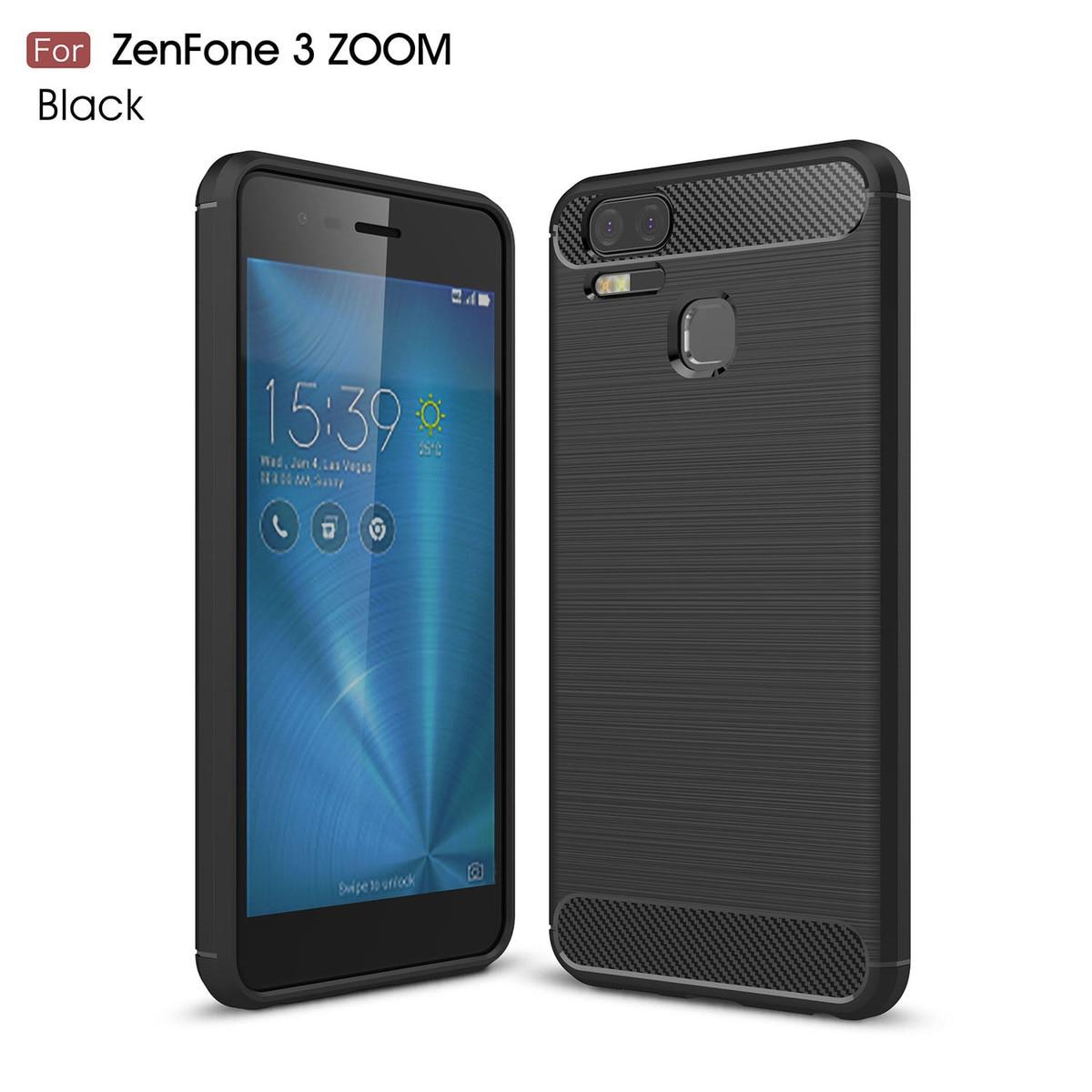 Fundas para Asus zenfone 3 Zoom ZE553KL ZE 553KL 553 KL funda trasera del teléfono para zenfone 3 Zoom ZE553 KL color puro carcasa de teléfono
