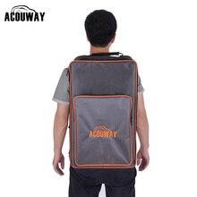 Acouway imperméable Cajon tambour sac à dos 1680D tissu 10MM rembourrage jeu de société sac à dos également pour la randonnée en plein air sac de camping