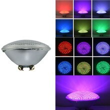 RGB PAR 56 LED Schwimmen Pool Glühbirne 25W PAR56 Weiß 12V Spa Lampe IP68 Piscina Pool (RGB mit Fernbedienung) muliti Farbe Teich Licht
