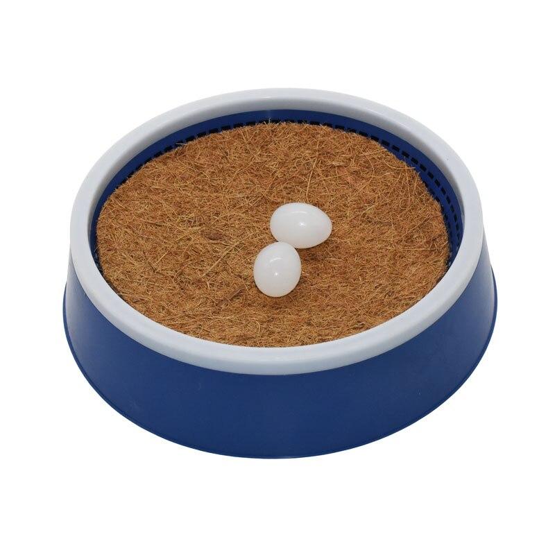 Grama de pássaro, ninho de ovos de corrida de porco, tapete de bacia de pássaro para tapete de grama, 10 peças