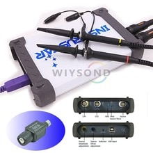 O043 ISDS220B 4 in 1 2CH 60MHz 200MSa/s USB PC based digital Oscilloscope / Spectrum Analyzer / DDS / Sweep + Attenuator