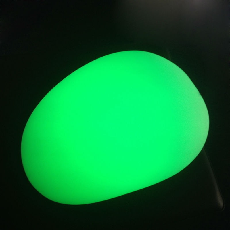 LED Mood Magic Night Lamp rechargeable led big pebble Stone Lamps Controlled By Remote For Christmas Decoration enlarge
