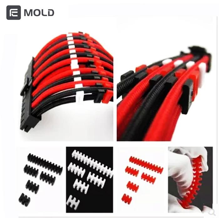 Гребень линии CPU GPU Удлинительный кабель комбо, черный, красный, белый провод диаметром 2,3 мм 3,3 мм отрезная линия машина кулер для воды гаджет инструменты