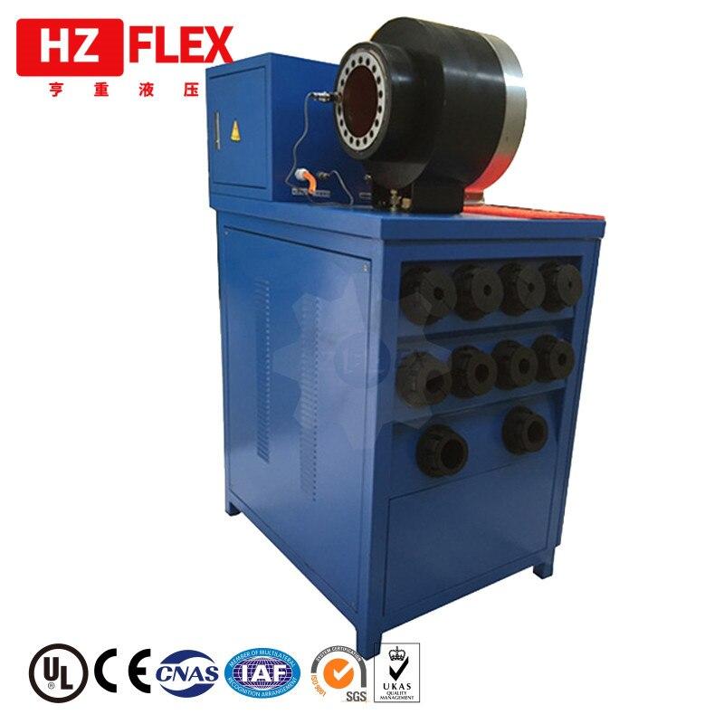 "Manguera de reparación de la máquina 220 v 3kw 1 ph HZ-50D 1/4 ""a 2"" 4SP R12 manguera hidráulica de la prensa"
