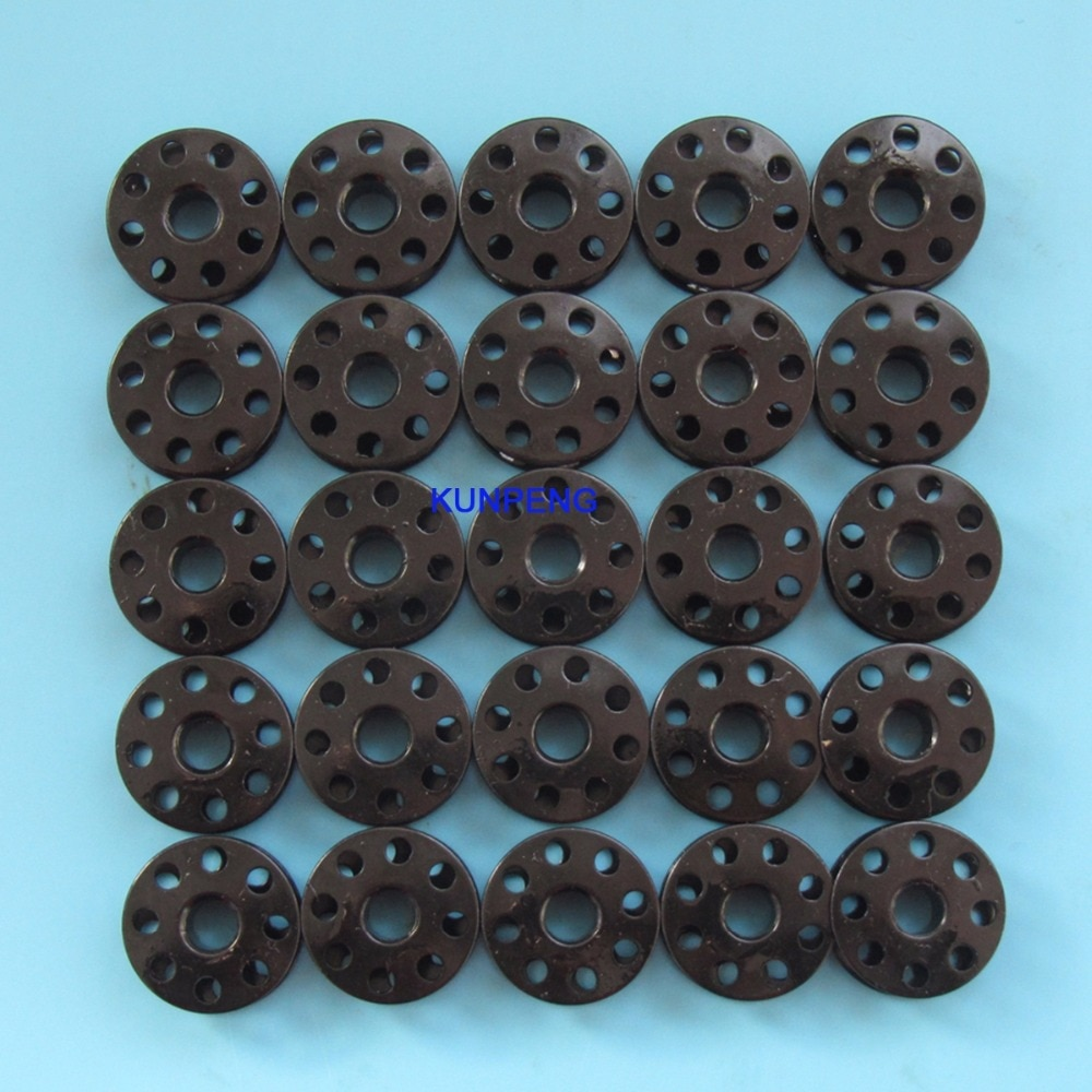 ¿25 uds? Bobinas de Máquina De Coser Industrial para JUKI DDL8700 negro # B9117-012-000-B = 270010B