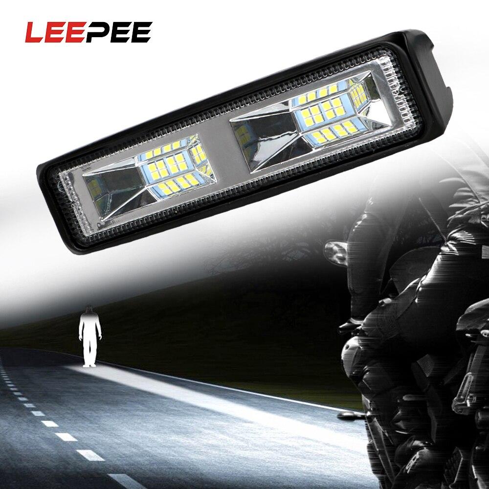 Leepee conduziu faróis 36w para o reboque offroad 12-24v do trator do barco do caminhão da motocicleta do carro conduziu a luz de trabalho luz de nevoeiro spotlight