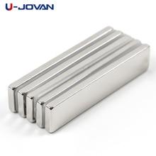 U-JOVAN 5pcs 50 x 10 x 3 mm Super Strong Block Powerful Neodymium Magnets 50*10*3 Rare Earth N35  Magnet