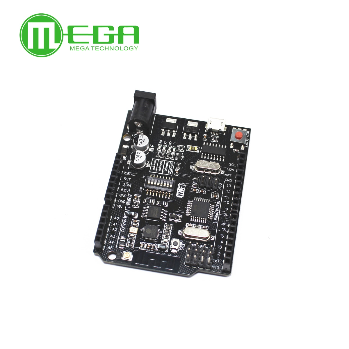 UNO R3 + WiFi ATmega328P+ESP8266 (32Mb memory) USB-TTL CH340G For Arduino Uno NodeMCU WeMos ESP8266