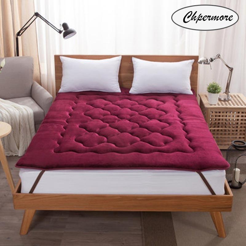 Chpermore Fale Tatami, colchones plegables para estudiantes, individuales, dobles, para dormitorio, colchas familiares, King Queen, Twin, tamaño completo