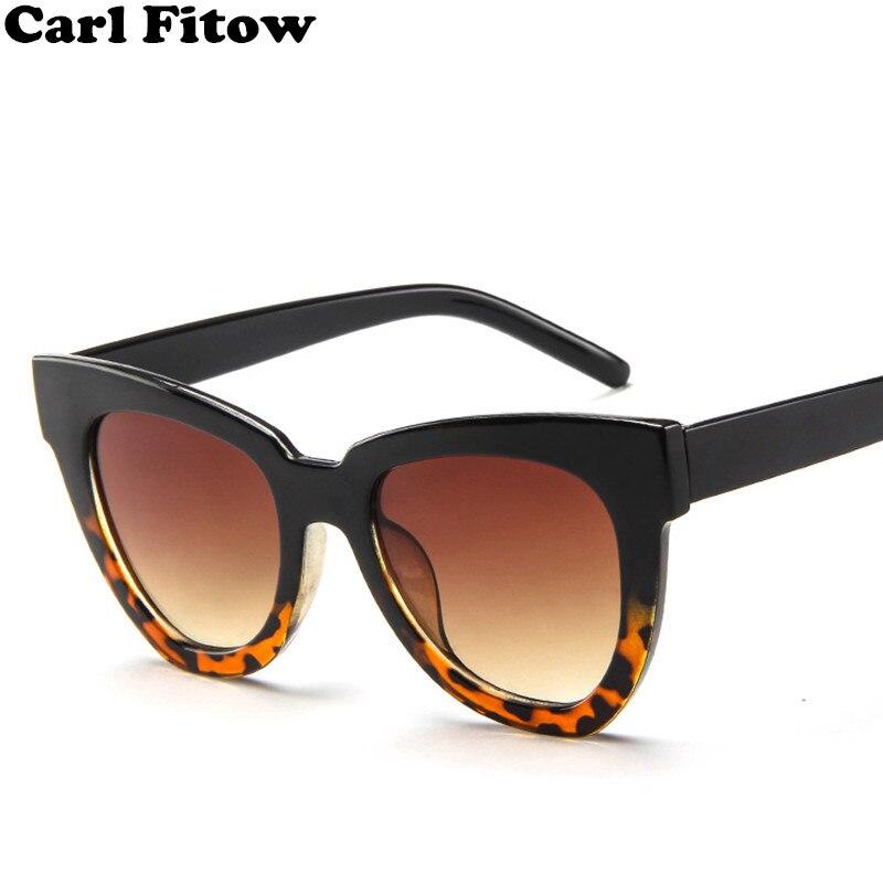 Fashion Cat Eye Sunglass Women Men Vintage Mirror Sunglasses Women Brand Designer Retro Sun Glasses
