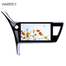 Harfey pour Toyota Corolla(LHD) 2017 voiture lecteur multimédia Wifi Bluetooth GPS Navi 10.1