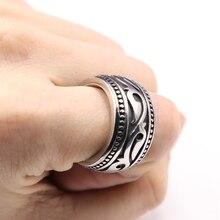 Drop Verzending Punk Styler 316l Rvs Heavy Dikke Gedraaide Knoop Ringen Voor Mannen Vrouwen Viking Engagement Ketting Ringen