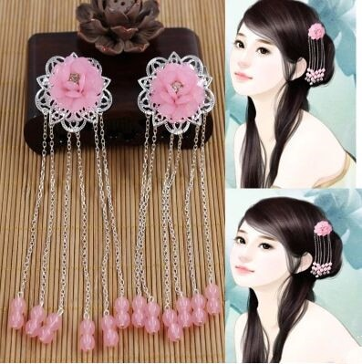 chinese ancient hairpin ancient hair accessories ancient chinese hair flower ancient dynasty cosplay classic vintage hairpin hair accessories princess hair flower chinese ancient princess hair decoration han dynasty wear