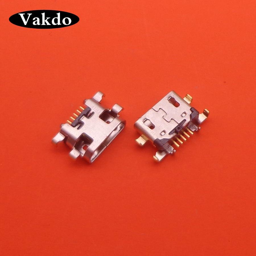 1 unidad para Lenovo K6 para Motorola Moto E5 Play conector de puerto de carga USB enchufe Jack Dock Micro mini USB