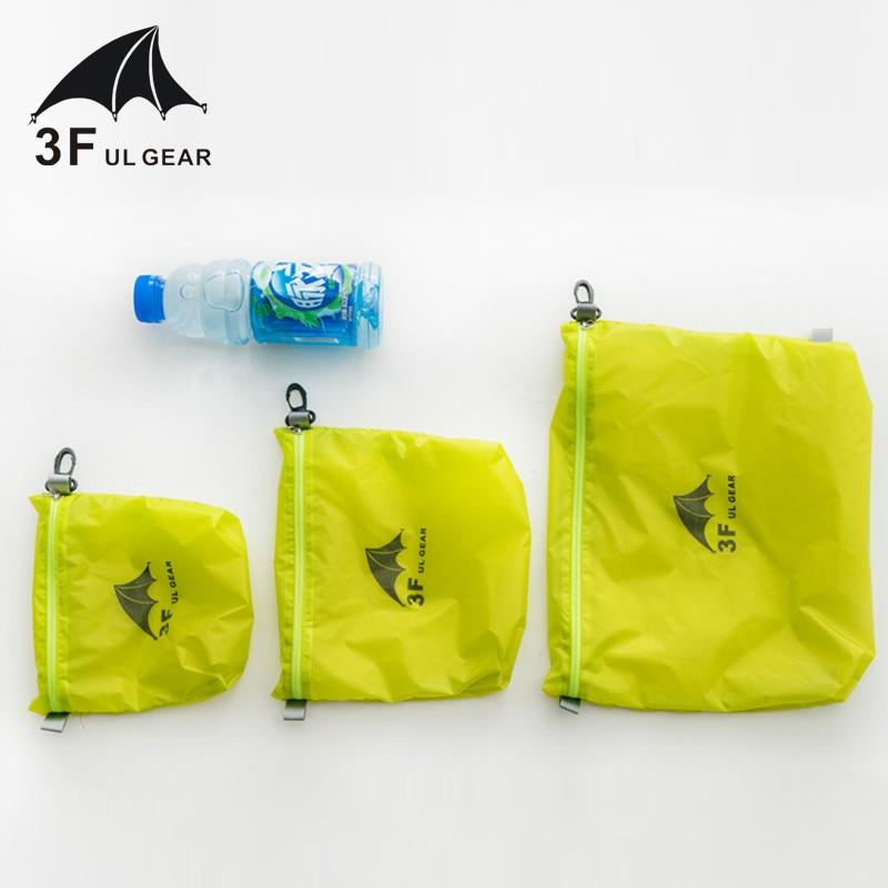 3F UL Gear 15D silicona 30D Cordura bolsa de almacenamiento impermeable ropa bolsa de almacenamiento de escombros bolsa de almacenamiento bolsa de natación