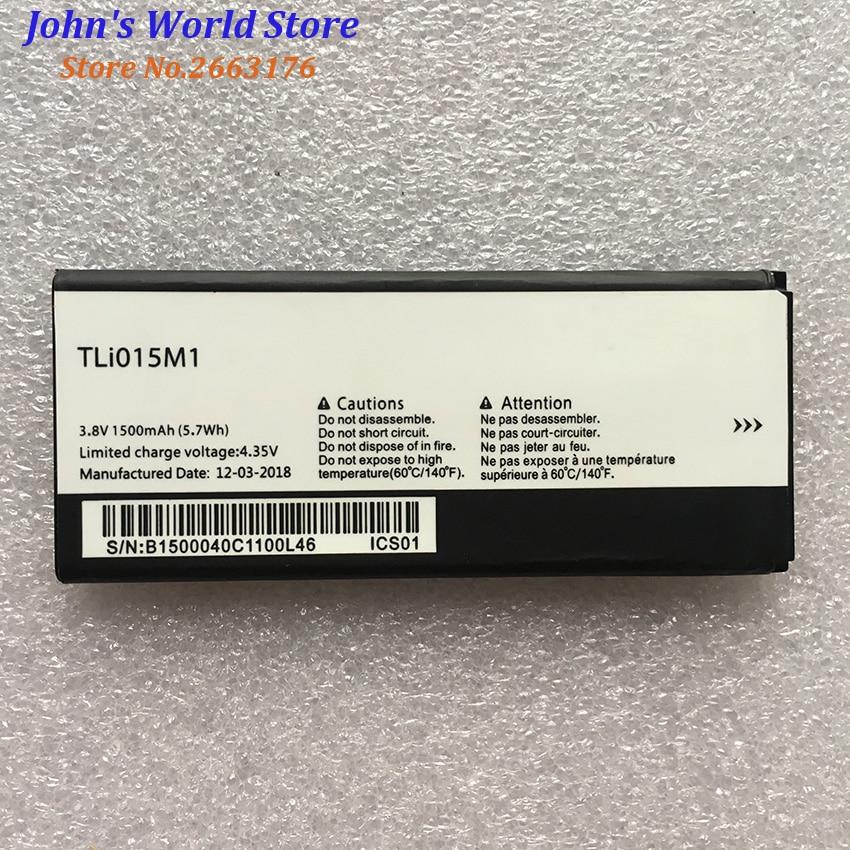 Nueva 1500mAh TLi015M1 Tli015M7 batería para Alcatel One Touch Pixi 4 4034A PIXI 4 4034A 4034X 4034F 4034D teléfono