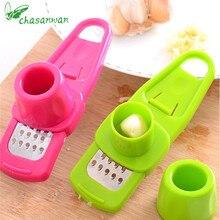 1 ud. De productos de cocina prensa de ajo Multi-funcional molienda ajo Mini trituración de jengibre rallador cortador herramientas de cocina.