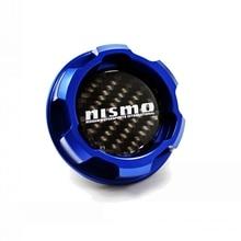 Kohlefaser logo Blau Aluminium Motoröldeckel für nissan ALTIMA MAXIMA SILVIA S13 S14 240SX SENTRA SUNNY INFINITI 350Z 300ZX
