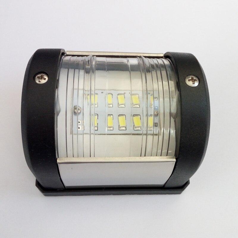 12V Marine Boat Yacht Navigation Light White LED Masthead Lamp Stern Accessories