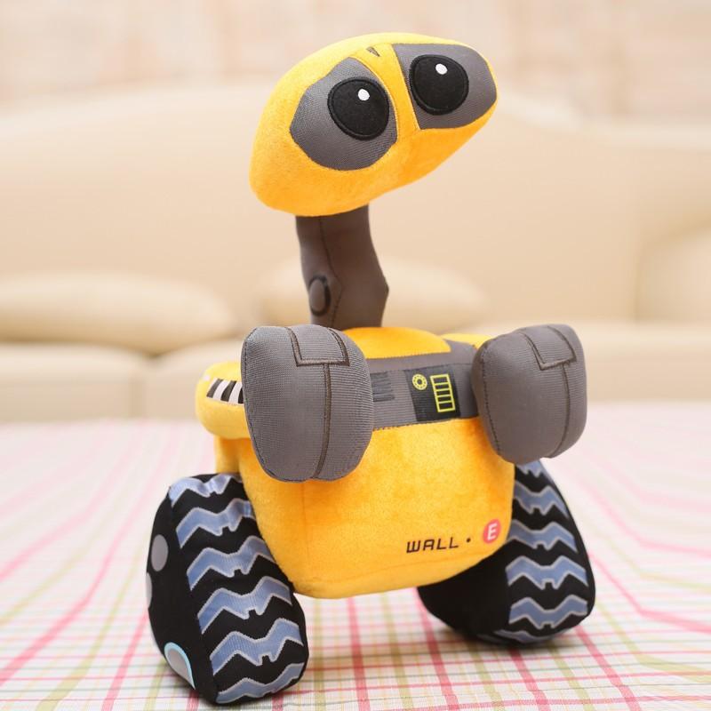 [Lustige] Cartoon 55cm WALL-E vivid robot Plüsch Spielzeug modell Wand E Minion Roboter modell weiche Angefüllte plüsch puppe spielzeug baby kinder geschenk