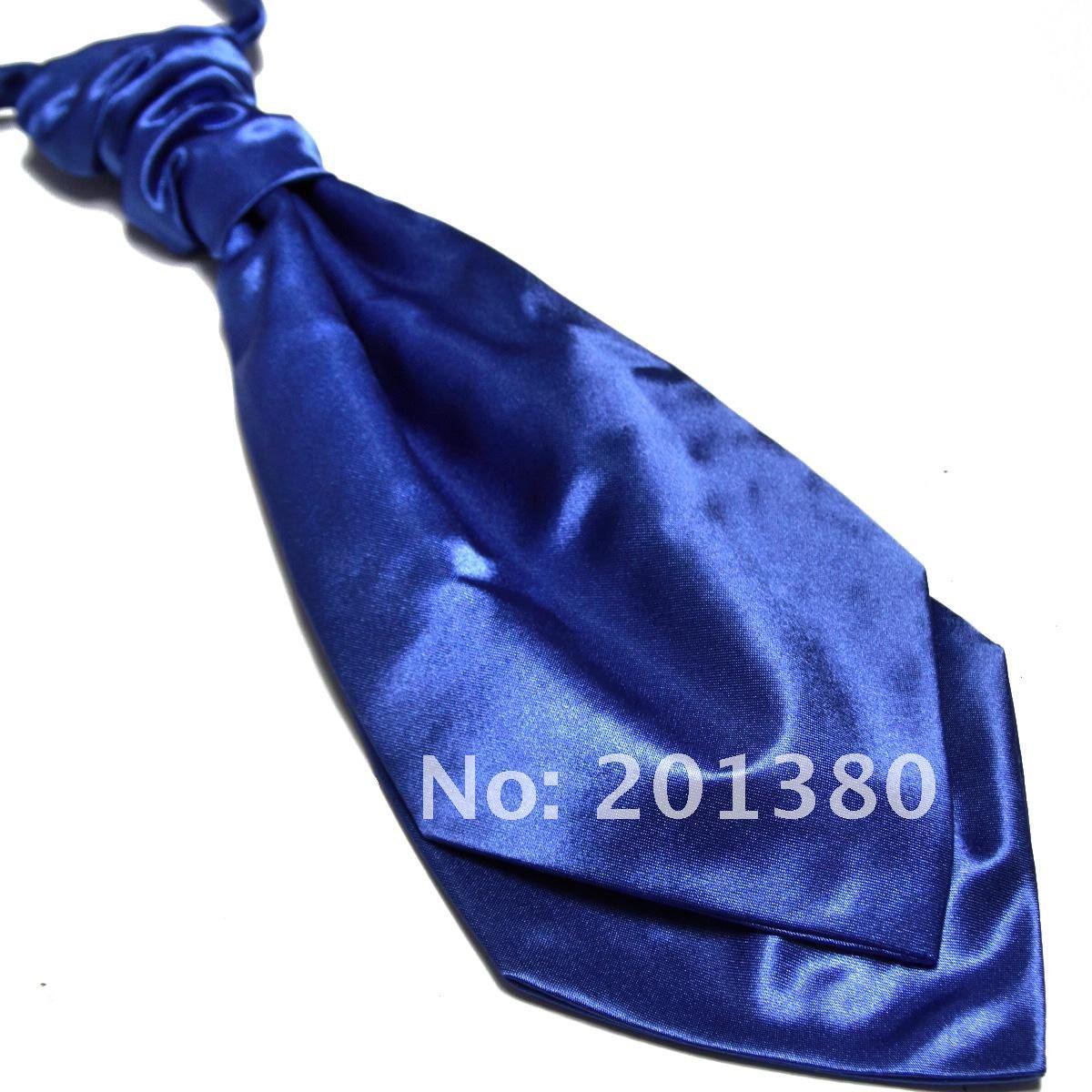 Corbatas 2019 para hombres corbata de color sólido corbata de boda Ascot copia seda color sólido moda corbata de poliéster