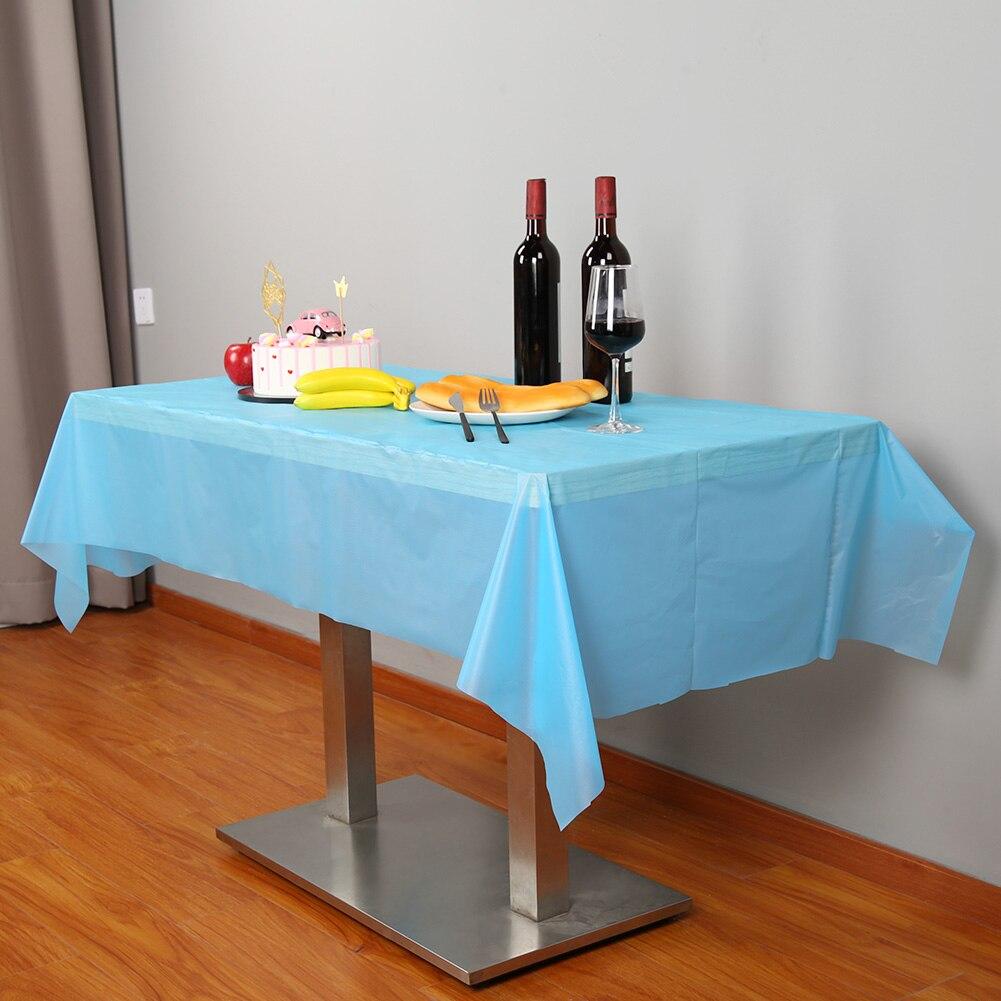 Mantel desechable de plástico de 30m, práctico mantel de plástico para fiestas, banquetes y bodas TN88