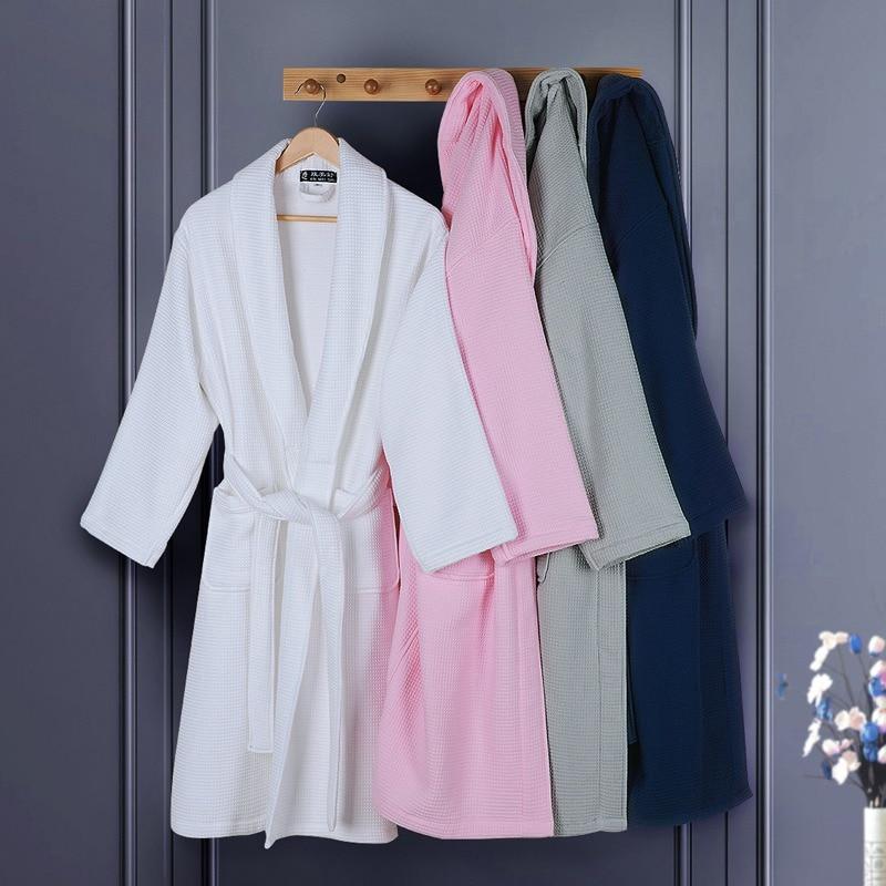 Хлопковая бархатная одежда для мужчин, брендовая махровая Пижама XL, женская зимняя утепленная белая мужская банная одежда, халат для дома и ...