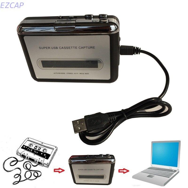 Cassette Tape CD convertir a MP3 WAV, convertir Cassette a USB Audio Captuer Walkman reproductor de música envío gratis