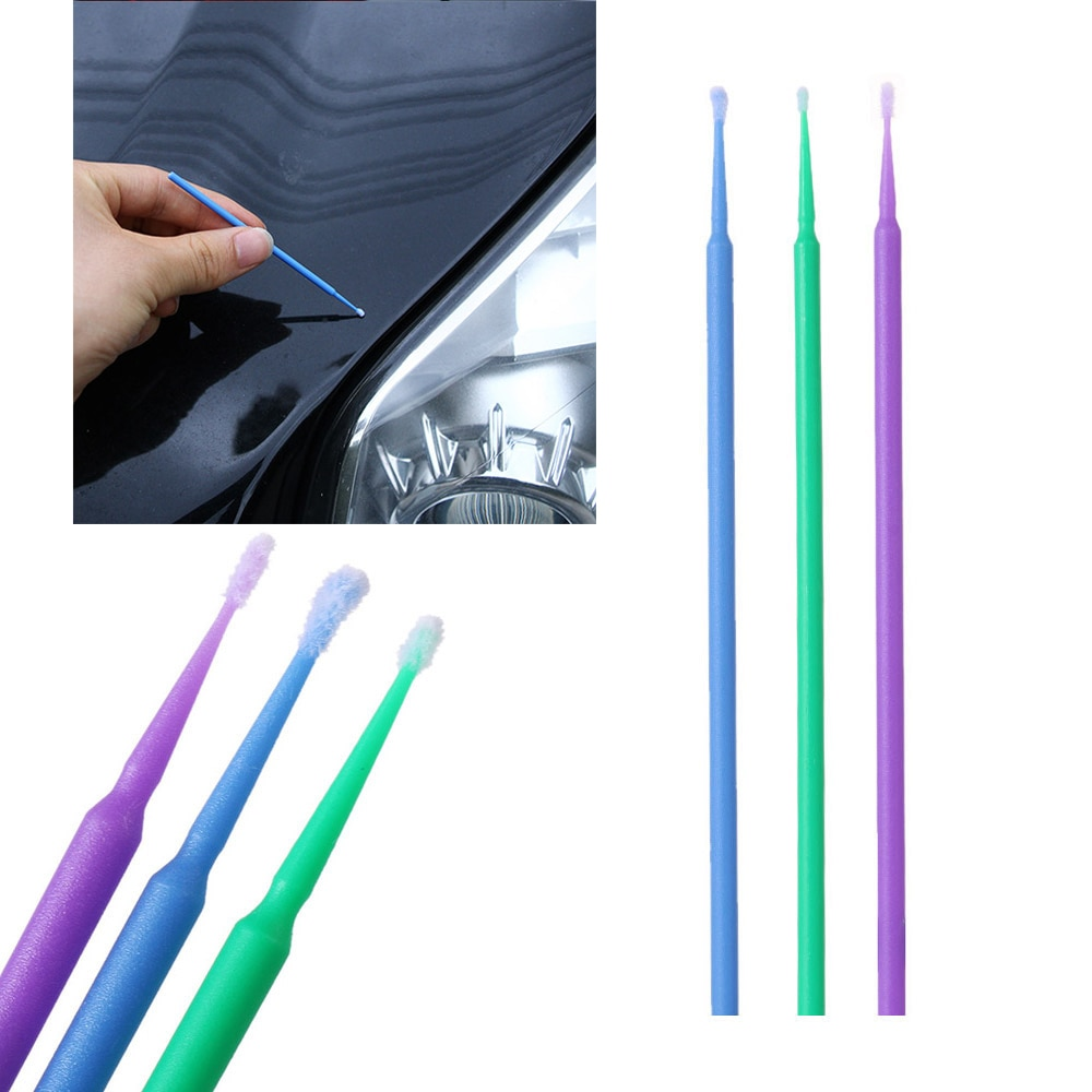Набор кистей для ремонта автомобиля, 100 шт./лот
