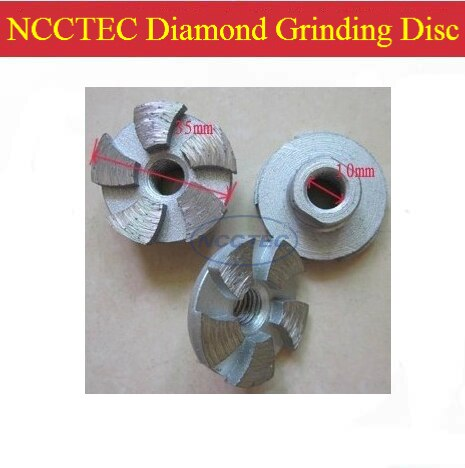 1.4'' NCCTEC diamond grinding CUP wheel FREE shipping | 35mm small Concrete DRY grinding disc for angle grinder | M10 thread
