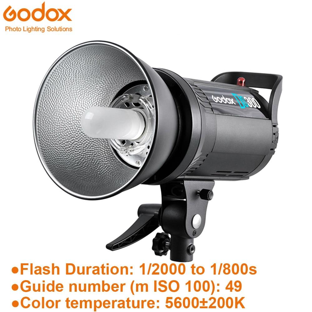 Godox DS200 200Ws estudio de fotografía estroboscópico Flash luz cabeza 200W 110 V-220 V