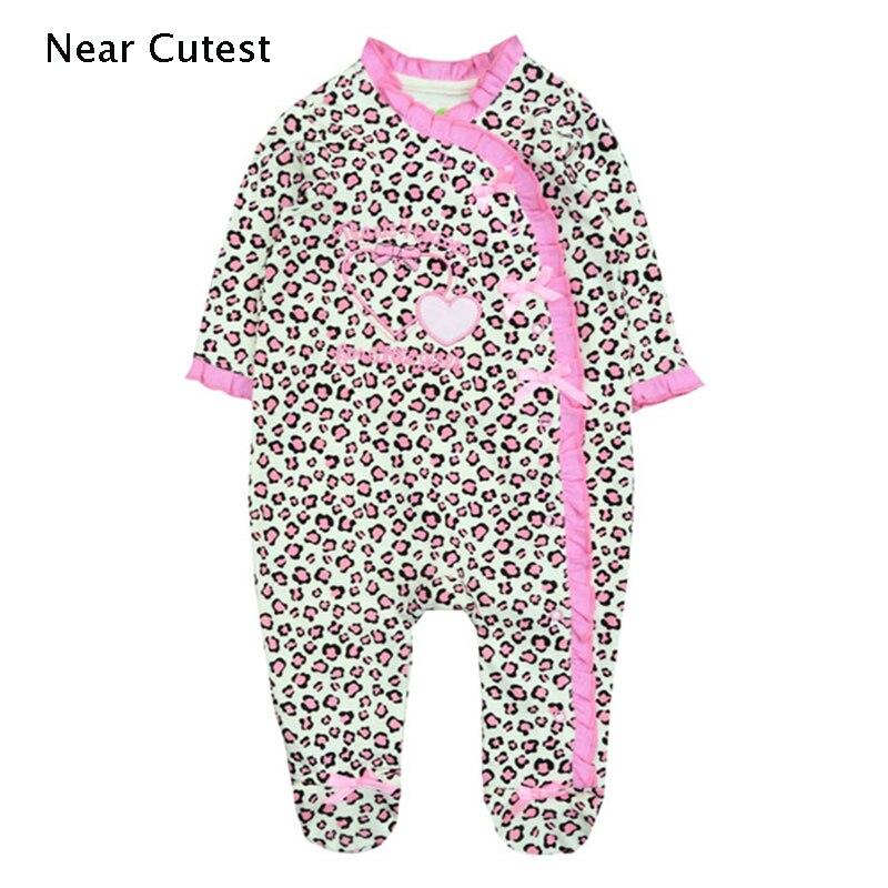 Mameluco de bebé recién nacido mameluco para bebé niña de manga larga de algodón disfraces ropa bebe Niña