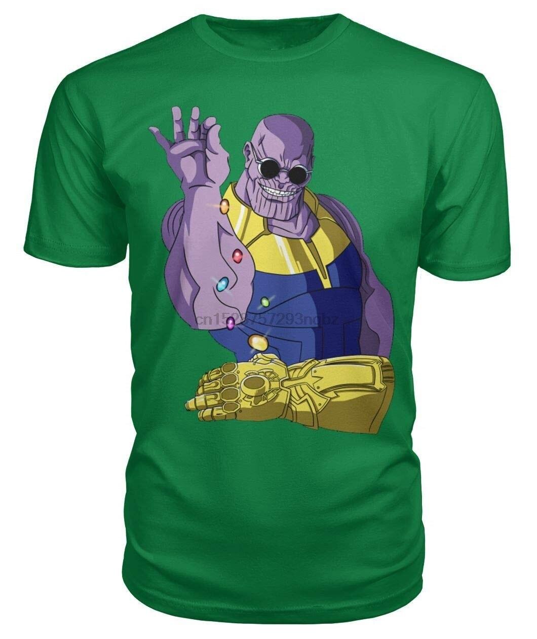 Camiseta Unisex Thanos Smiling Salt Bae divertida inspirada parodia-vengadores