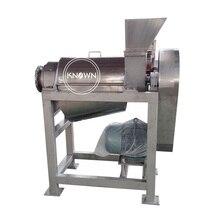 Grande capacité 2.5 t/h pressée à froid commerciale pomme pin pomme citron orange jus extracteur machine presse-agrumes faisant la machine