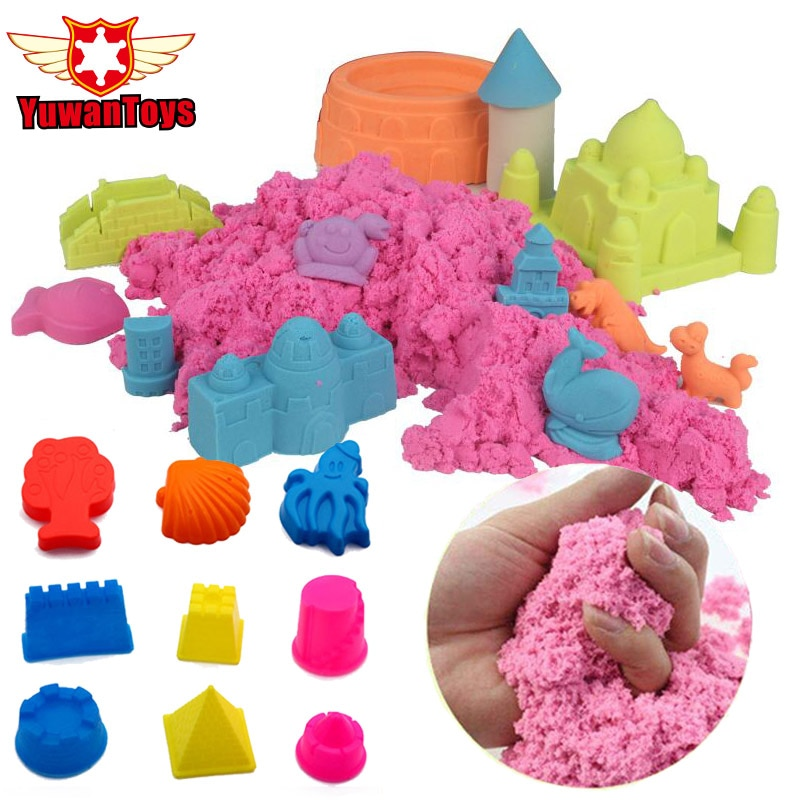Baba espacio dinámico Arena, limo magia Arena limo esponjoso 100 g/bolsa educativos color dinámico Arena interior juguetes de barro