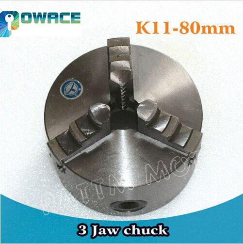 [EU Schiff] 3 Kiefer K11-80mm/4 Kiefer K12-100mm Manuelle selbst-zentrierung Chuck CNC Maschine werkzeug Drehmaschine chuck