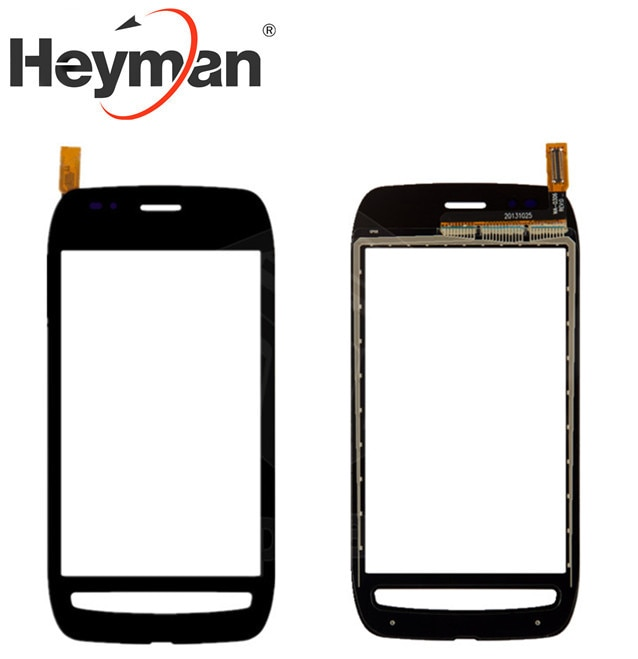 Pantalla táctil Heyman para Nokia 710, Panel de cristal digitalizador Lumia, sensor...