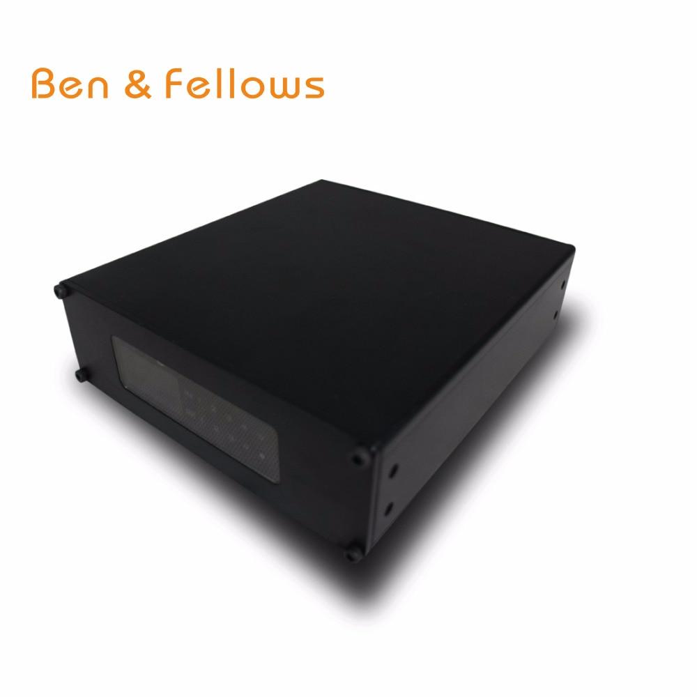 Ben & fellow-جهاز إرسال واجهة الصوت Dante 521019 مع مصدر طاقة POE ، يتم التحكم فيه بواسطة audinate