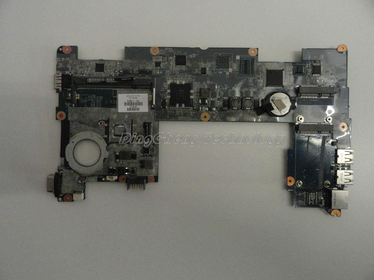 Placa base HOLYTIME para ordenador portátil hp MINI210 598011-001 para cpu intel N450 con tarjeta gráfica integrada DDR2 100% probado completamente