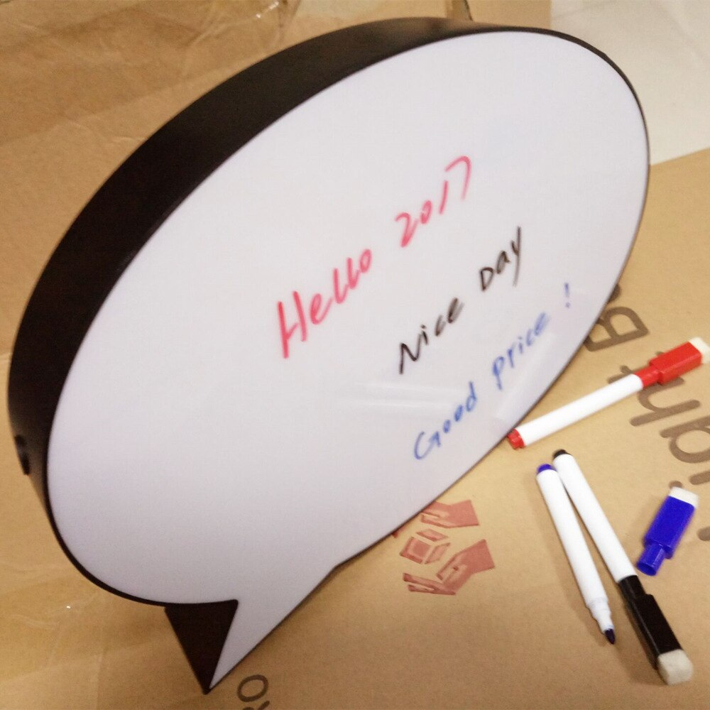 Paintable y escribible con pluma de color tableta LED ciencia caja de luz creativa Luz de escritura a mano caja de luz