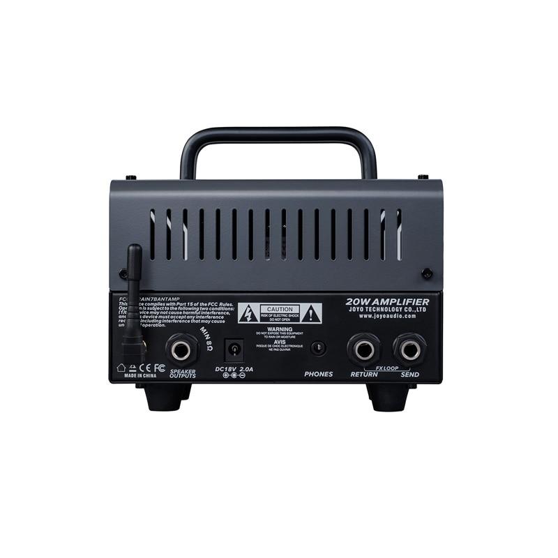 JOYO BANTAMP ZOMBIE Head Tube Amplifier Guitar Multi Effects Speaker banTamP Preamp AMP 20W Electric Bass Guitarr Accessories enlarge