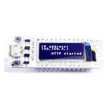 Puce WIFI ESP8266 0.91 pouces OLED CP2014 32 mo Flash ESP 8266 Module Internet des objets carte PCB pour NodeMcu pour Arduino IOT