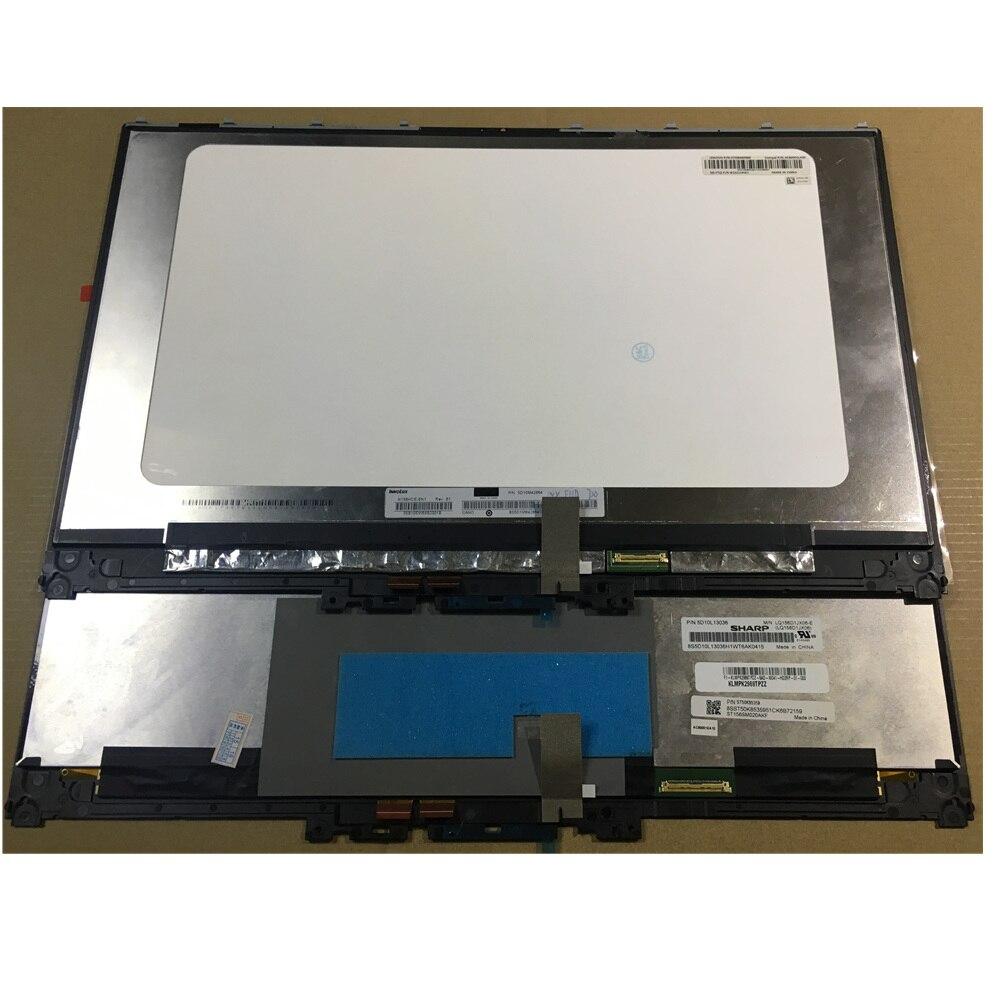 Para Lenovo Yoga 720-15IKB UHD 3840x2160 LCD pantalla táctil digitalizador bisel montaje 4k