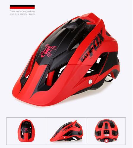 Bat FOX-Casco moldeado integralmente para bicicleta de montaña, de 56 a 63CM