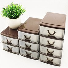 Nouveau tiroir Durable plastique   Table de bureau, débris de bureau, tiroir cosmétique porte-boîte de rangement