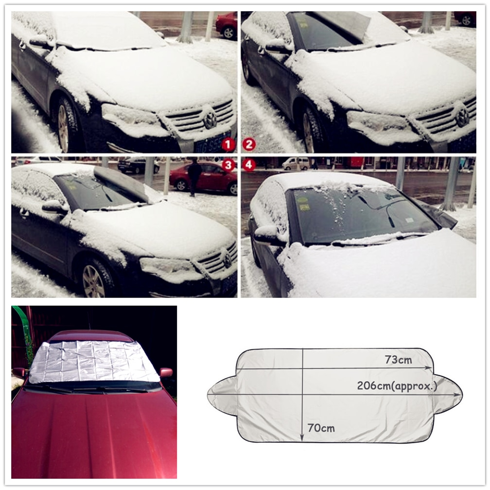 2018 new car Snow Ice Sun Shade Dust Prevent Window Cover for Volkswagen vw Tuhuan 1.4T Touareg2 New Beetle Passat B6